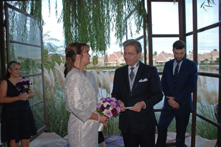 Wedding at Marche Bacchus Restaurant
