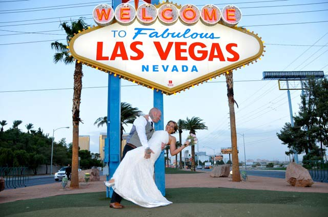 eloping in Las Vegas