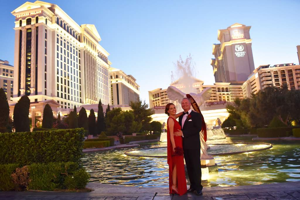 Las Vegas Wedding Photo Tour Romance