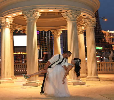 Romantic Las Vegas Wedding Photo