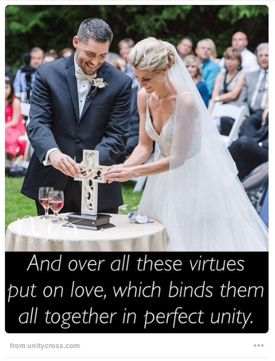 Unity Cross Wedding Ceremony