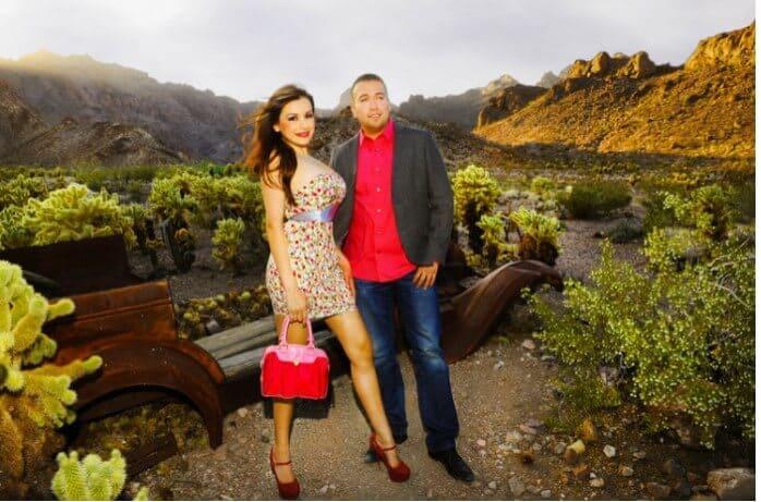 Scenic Desert Wedding at Nelson Ghost Town