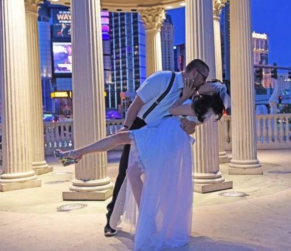 Vegas Strip Wedding Package