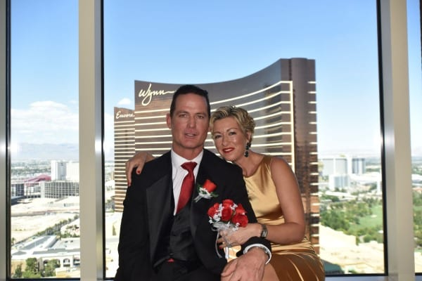 Vegas Strip Resort wedding