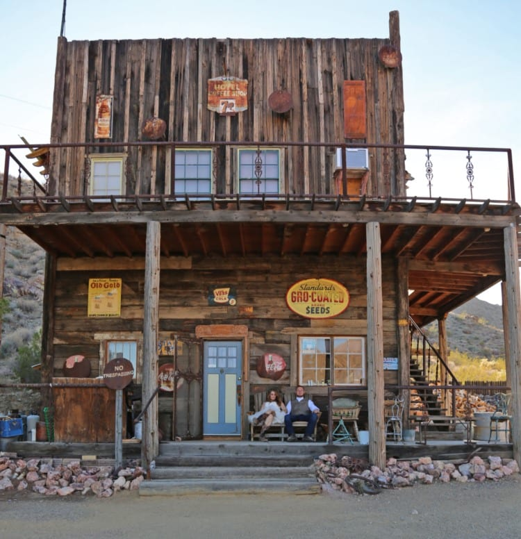 The Old West building at Nelson Ghost Town
