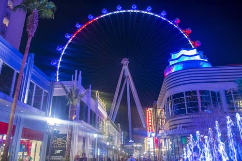 romance on the linq high roller