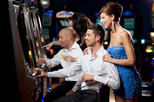 vegas slot machine romance