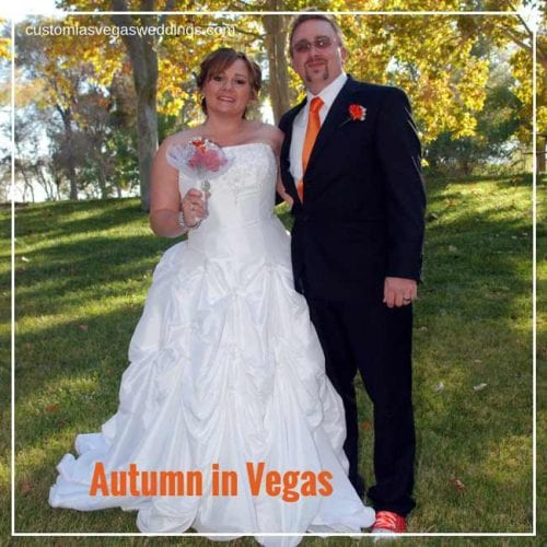 Planning an autumn wedding in vegas