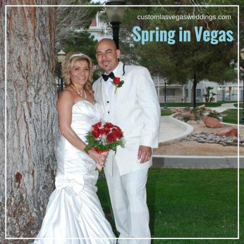 planning a spring wedding in Vegas