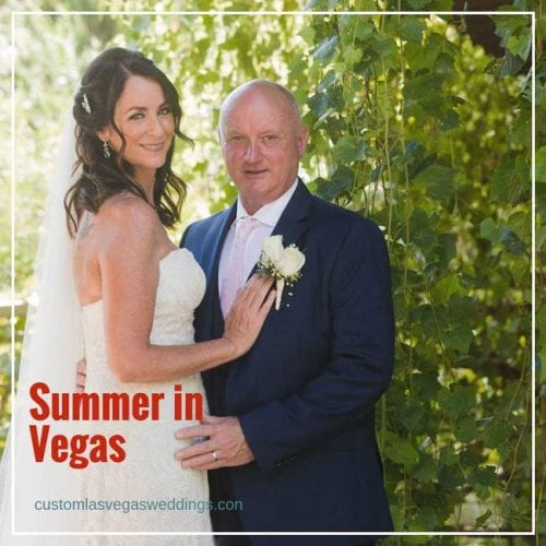 planning a summer wedding in Vegas