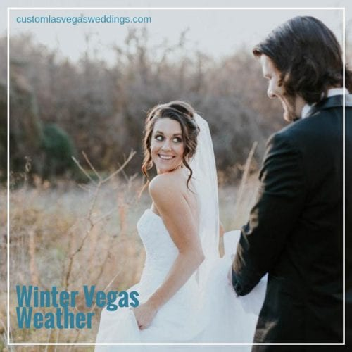 planning a winter wedding in Las Vegas