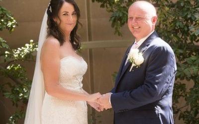 Romantic Client Story in a Las Vegas Garden Wedding Venue