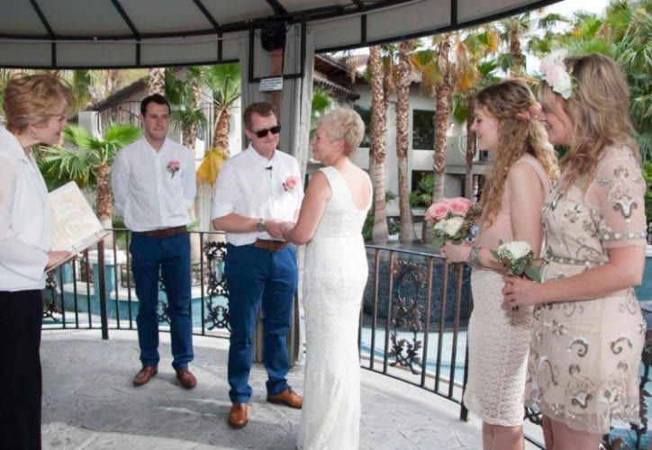 outdoor las vegas wedding packages