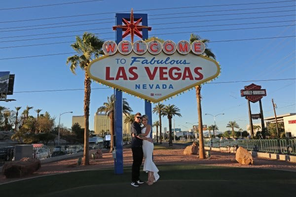 Vegas strip wedding package