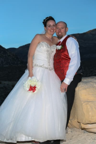 Get married in Red Rock canyon
