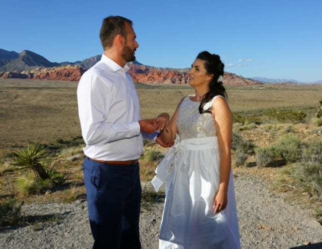 weddings at red rock canyon