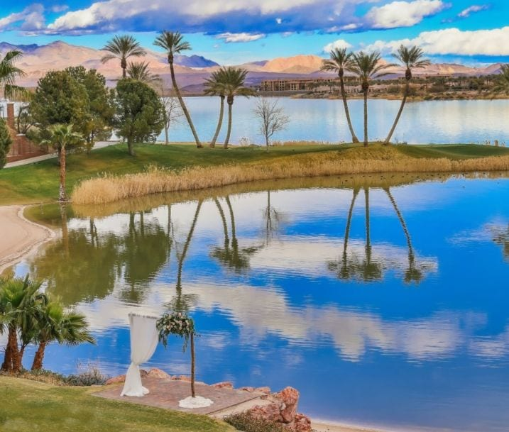 Las Vegas Lakeside weddings