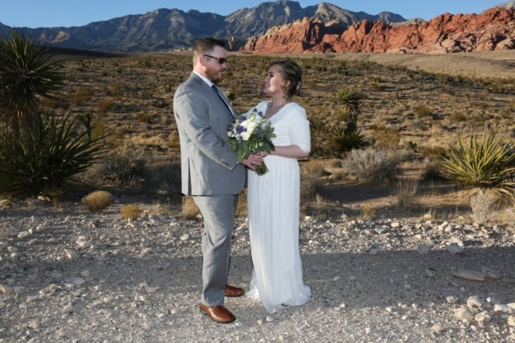 Wedding at Red Rock Canyon
