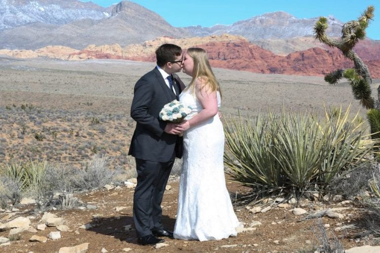 Simple wedding in Las Vegas