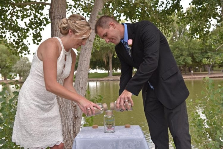 Outdoor wedding venues in Las Vegas