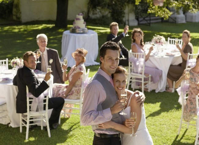 Las Vegas outdoor wedding