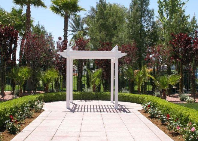 Oasis Garden Arbor
