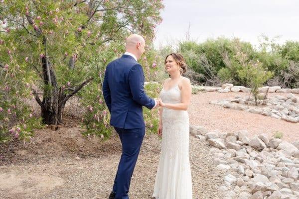 Outdoor Vegas Wedding