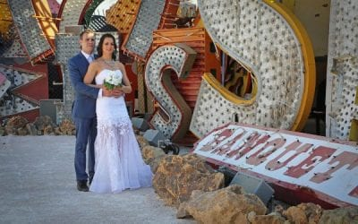 Neon Museum Elopement Pop Up