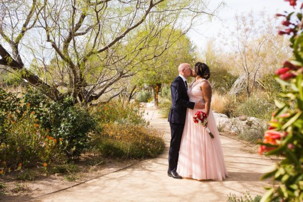 Springs Preserve elopement wedding