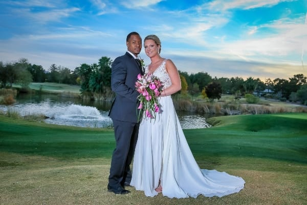 Wildhorse Country Club wedding photo