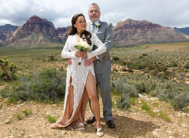 Red Rock Canyon Desert elopement