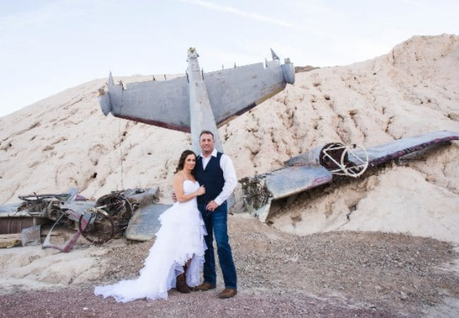 Nelson Las Vegas Desert Wedding photo