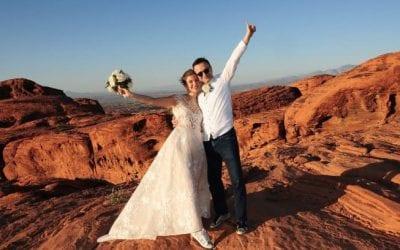 9 Scenic and Romantic Las Vegas Desert Elopement Ideas