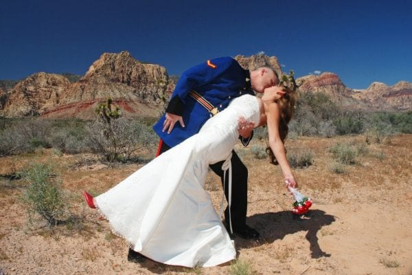 Spring Mountain Ranch wedding photo