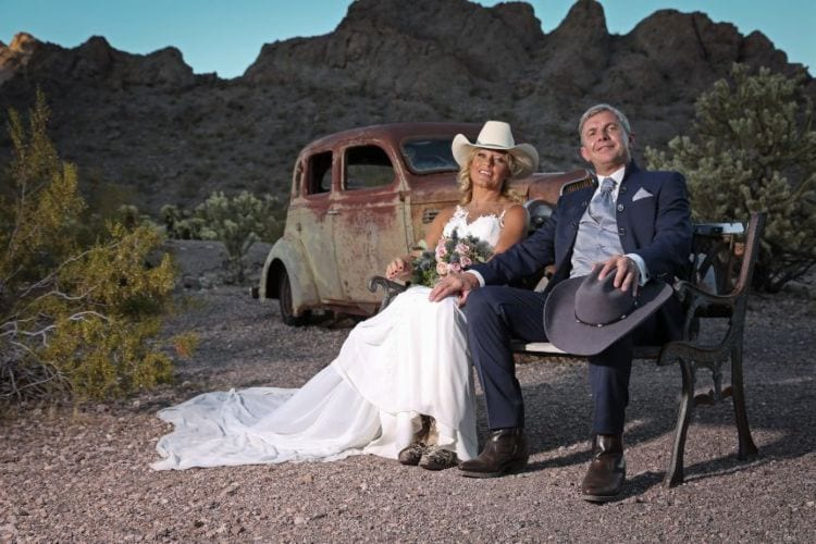 Nelson Ghost Town wedding