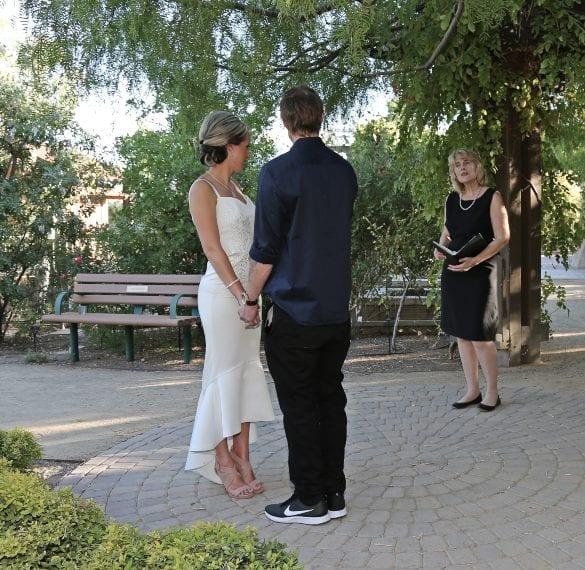 Springs Preserve Las Vegas Wedding