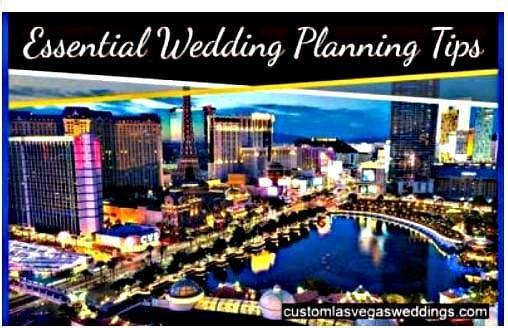 Vegas wedding elopement
