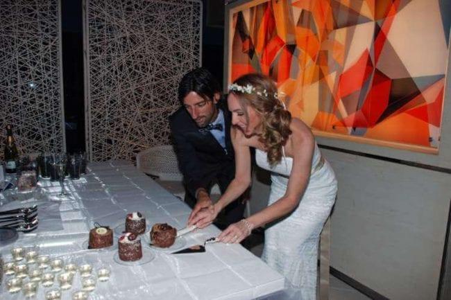Vegas micro wedding reception